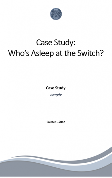 Energy Management Case Study (sample)