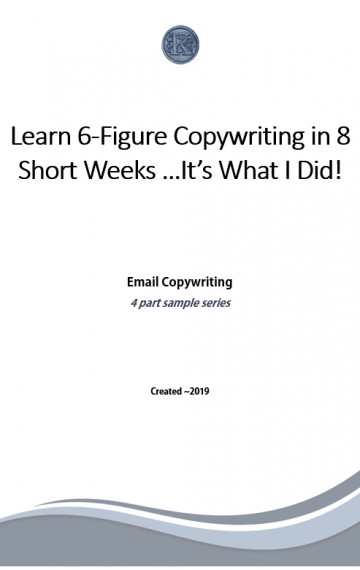 Email Copywriting Series (sample)