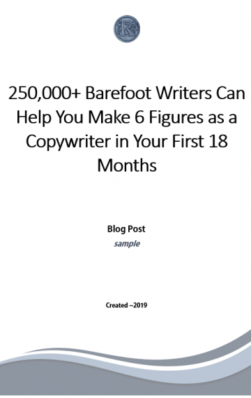 Copywriting Blog Post (sample)