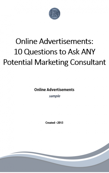 Online Advertisements (sample)