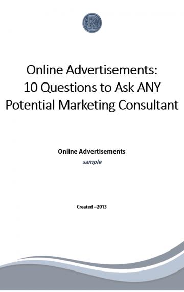 Online Advertisements (sample)