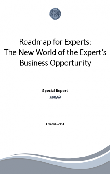 Roadmap for Experts eBook (sample)